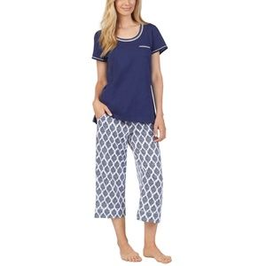 Carole Hochman Ladies' 3-piece Pajama Navy
